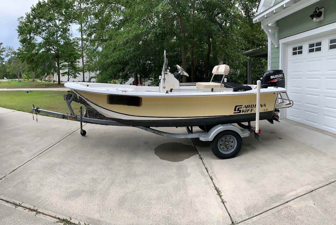 Enjoyable 2010 Carolina Skiff Jvx For Sale Wb Live Surf Onthecornerstone Fun Painted Chair Ideas Images Onthecornerstoneorg